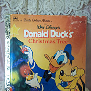 Little Golden Books: Walt Disney's Donald Duck's Christmas Tree, 1991
