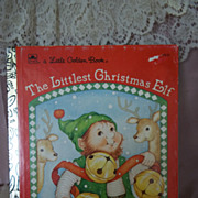 Little Golden Books: The Littlest Christmas Elf, 1991