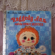 Little Golden Books: Raggedy Ann and the Cookie Snatcher, 1972