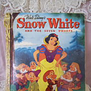 Little Golden Books: Walt Disney's Snow White and the Little Dwarfs