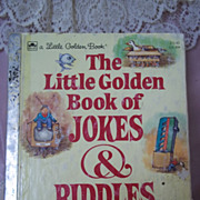 Little Golden Books: The Little Golden Book of Jokes & Riddles, 1983