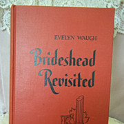 Brideshead Revisited, Evelyn Waugh, Little Brown & Co. 1945 HC