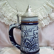 SOLD 1976 Beer Stein Featuring Rocky Mountain Wildlife by Avon