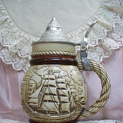 Tall Ship Beer Stein by Avon,  Limited Edition 1977