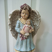 Vintage Ceramic Angel Girl
