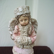 Ceramic Angel Girl Figurine