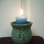 Green Ceramic Votive