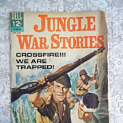 Dell Comics Jungle War Stories, No. 7 April-June 1964 G-VG