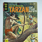 Gold Key Comics Tarzan of the Apes No. 191, April 1970