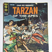 Gold Key Comics Tarzan of the Apes No. 160, Sept. 1966