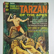 Gold Key Comics Tarzan of the Apes No. 187, Sept. 1969