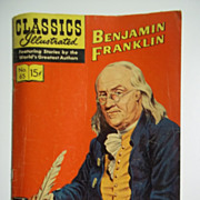 Classics Illustrated Comic No. 65: Benjamin Franklin
