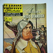 Classics Illustrated Comic No. 92, Feb. 1952: Miles Standish