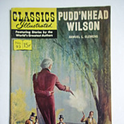 Classics Illustrated Comic No. 93, March 1952: Pudd'nhead Wilson
