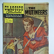 Classics Illustrated Comic No. 122, September 1954: The Mutineers