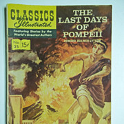 Classics Illustrated Comic No. 35, March 1947: The Last Days of Pompeii