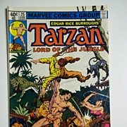 Marvel Comics Tarzan Lord of the Jungle Vol. 1, No. 25, June 1979