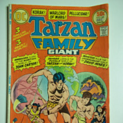 DC Comics Tarzan Family Giant Comic No. 66, Dec. 1976