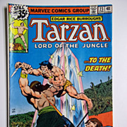 Marvel Comics Tarzan Lord of the Jungle, Vol. 1, No. 23, April 1979