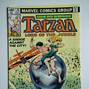 Marvel Comics Tarzan Lord of the Jungle, Vol. 1, No. 28, Sept. 1979