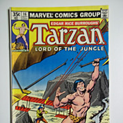 Marvel Comics Tarzan Lord of the Jungle, Vol. 1, No. 16, Sept. 1978