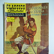 Classics Illustrated Comic, No. 76, Oct. 1950: The Prisoner of Zenda