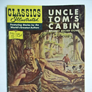 Classics Illustrated Comic, No. 15: Uncle Tom's Cabin