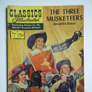Classics Illustrated Comic, No. 1: The Three Musketeers
