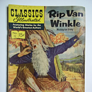 Classics Illustrated Comic, No. 12, March 1944: Rip Van Winkle