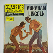 Classics Illustrated Comic No. 142, 1958: Abraham Lincoln