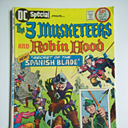 DC Special The 3 Musketeers and Robin Hood, Vol. 6, No. 23, Aug.-Sep. 1976