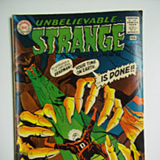 DC Comics Unbelievable Strange, No. 216, Jan.-Feb. 19699
