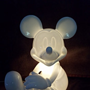 SOLD Vintage Mickey Mouse Night Light