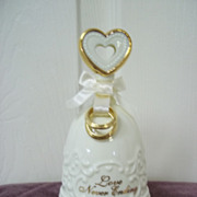 ' Love Never Ending ' Porcelain Bell Music Box by San Francisco Music Box Co.