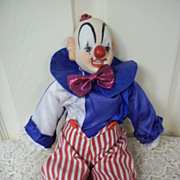 Porcelain Clown Music Box