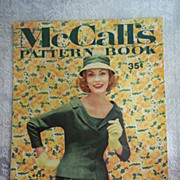McCall's Pattern Book, Spring 1958