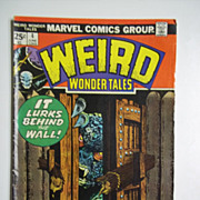 Marvel Comics Weird Wonder Tales, Vol. 1, No. 4, June 1974