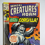 Marvel Comics Where Creatures Roam, Vol. 1, No. 5, March 1971