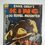 Dell Comics Zane Grey's King of the Royal Mounted, No. 12, June-Aug. 1953