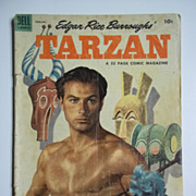 Dell Comics Edgar Rice Burroughs' Tarzan, Vol. 1, No. 53, Feb. 1954