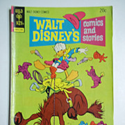 Gold Key Comics Walt Disney's Comics and Stories Vol. 34, No. 9, June 1974
