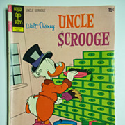 Gold Key Comics Uncle Scrooge, No. 99, June 1972