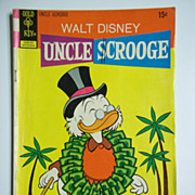 Gold Key Comics Uncle Scrooge, No. 101, Sept. 1972