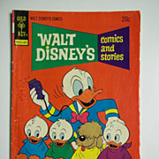 Gold Key Comics Walt Disney's Comics and Stories Vol. 34, No. 8, May 1974