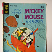 Gold Key Comics Mickey Mouse No. 126, Aug. 1970