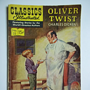 Classics Illustrated Comic, No. 23, July 1945: Oliver Twist