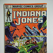 Marvel Comics The Further Adventures of Indiana Jones, Vol. 1, No. 3 March 1983