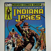 Marvel Comics The Further Adventures of Indiana Jones Vol. 1, No. 1, Jan. 1982 First ...