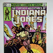 Marvel Comics The Further Adventures of Indiana Jones Vol. 1, No. 2, February 1983