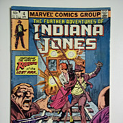 Marvel Comics The Further Adventures of Indiana Jones, Vol. 1, No. 4, April 1983